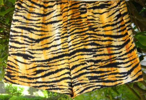 LSU tiger print toddler shorts by decorsisters on Etsy