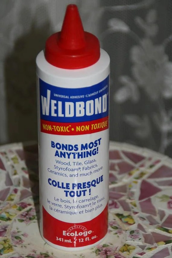 WELDBOND Glue Adhesive For Mosaic Glass Wood Tile projects