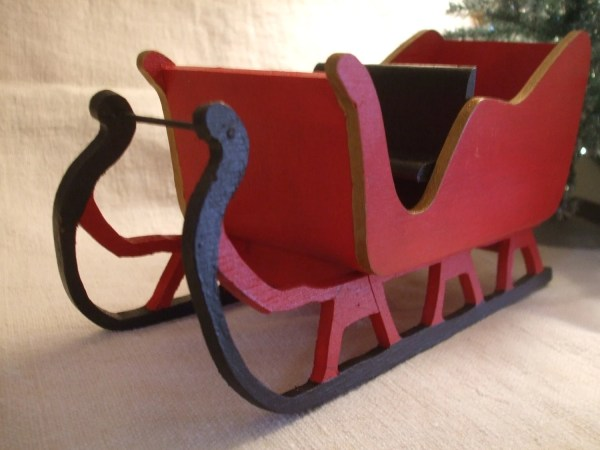 Free Wooden Santa Sleigh Pattern Year Of Clean Water