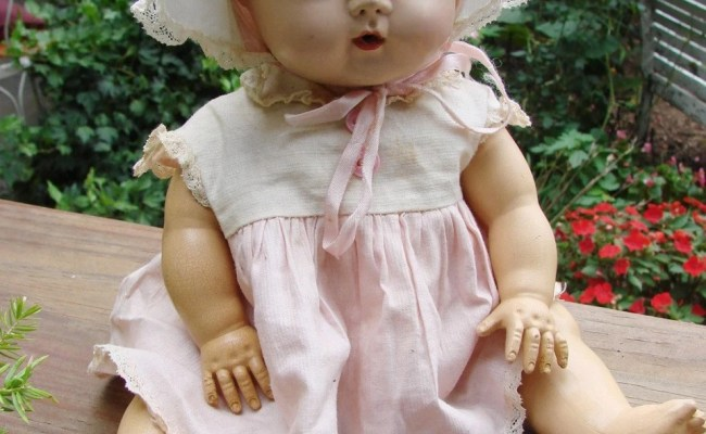 Vintage 1950s American Character Doll Tiny Tears Doll That