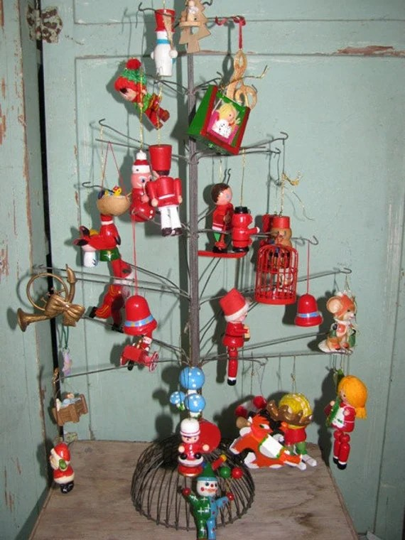 Items Similar To Vintage 1970s Christmas Ornaments