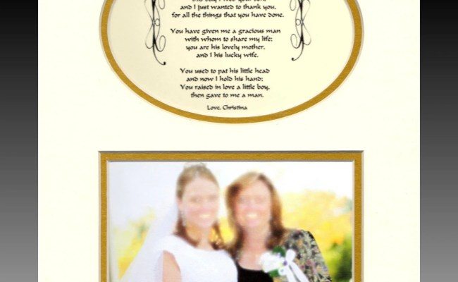 Wedding Mother In Law Personalized Gift Wedding By