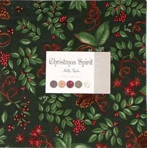 CHRISTMAS SPIRIT Moda Christmas Layer Cake By Holly Taylor