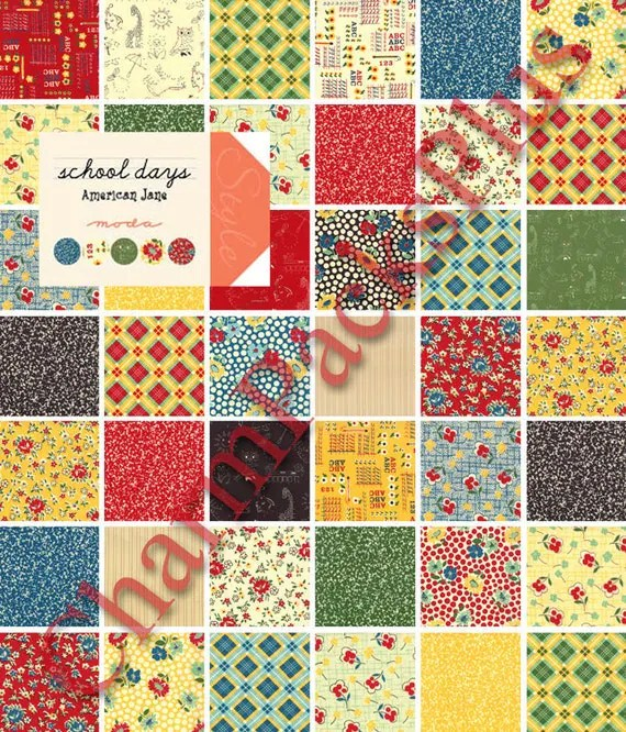 Patterns Charm Moda Pack