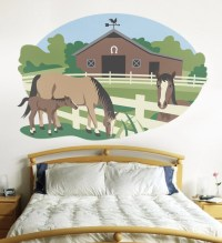 Wall Murals for Kids Rooms Horse Mural Paint by Number Do