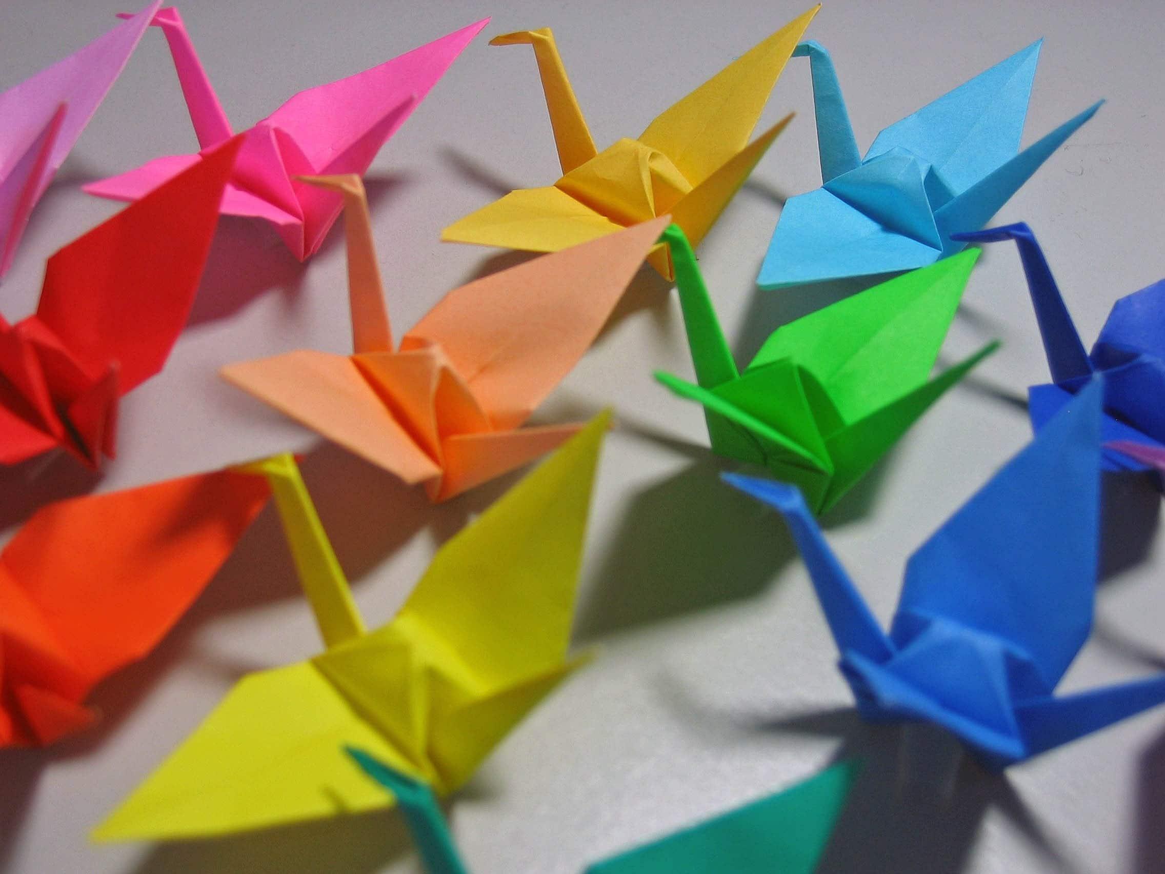 1000 Origami Paper Cranes Senbazuru FREE US AND by MadeByJo
