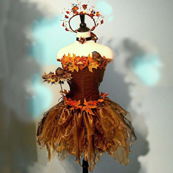 Items Similar Adult Fairy Costume - Songbird Faerie Woodland In Shades Of Bronze