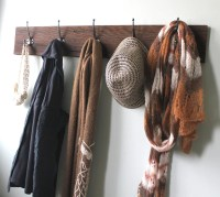 Reclaimed Barn Wood Coat Rack by bluebirdheaven on Etsy