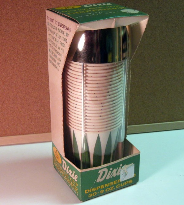 Vintage 9 Oz Dixie Cup Dispenser Wall Mounted
