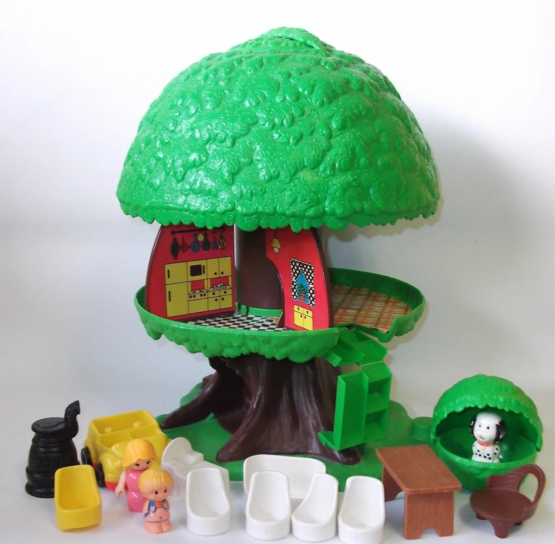 Animal Fisher Price Tree House
