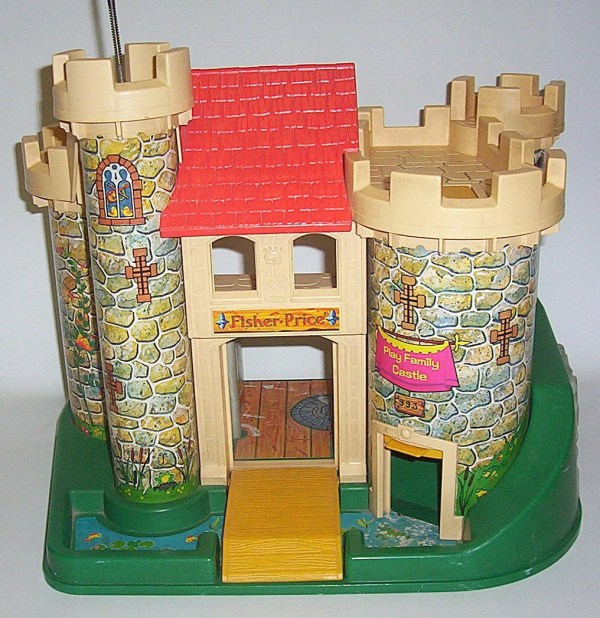 Vintage Fisher Little People Family Castle