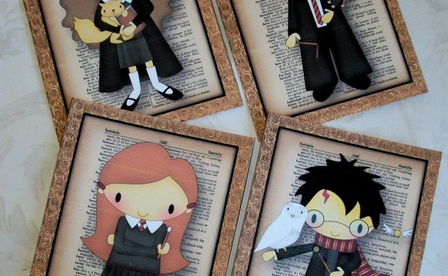 Harry Potter Wall Art Your Choice Of 5x7 Prints Or 8x10