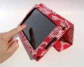 Red Kindle Fire Cover Stand Ready to Ship - StudioCherie