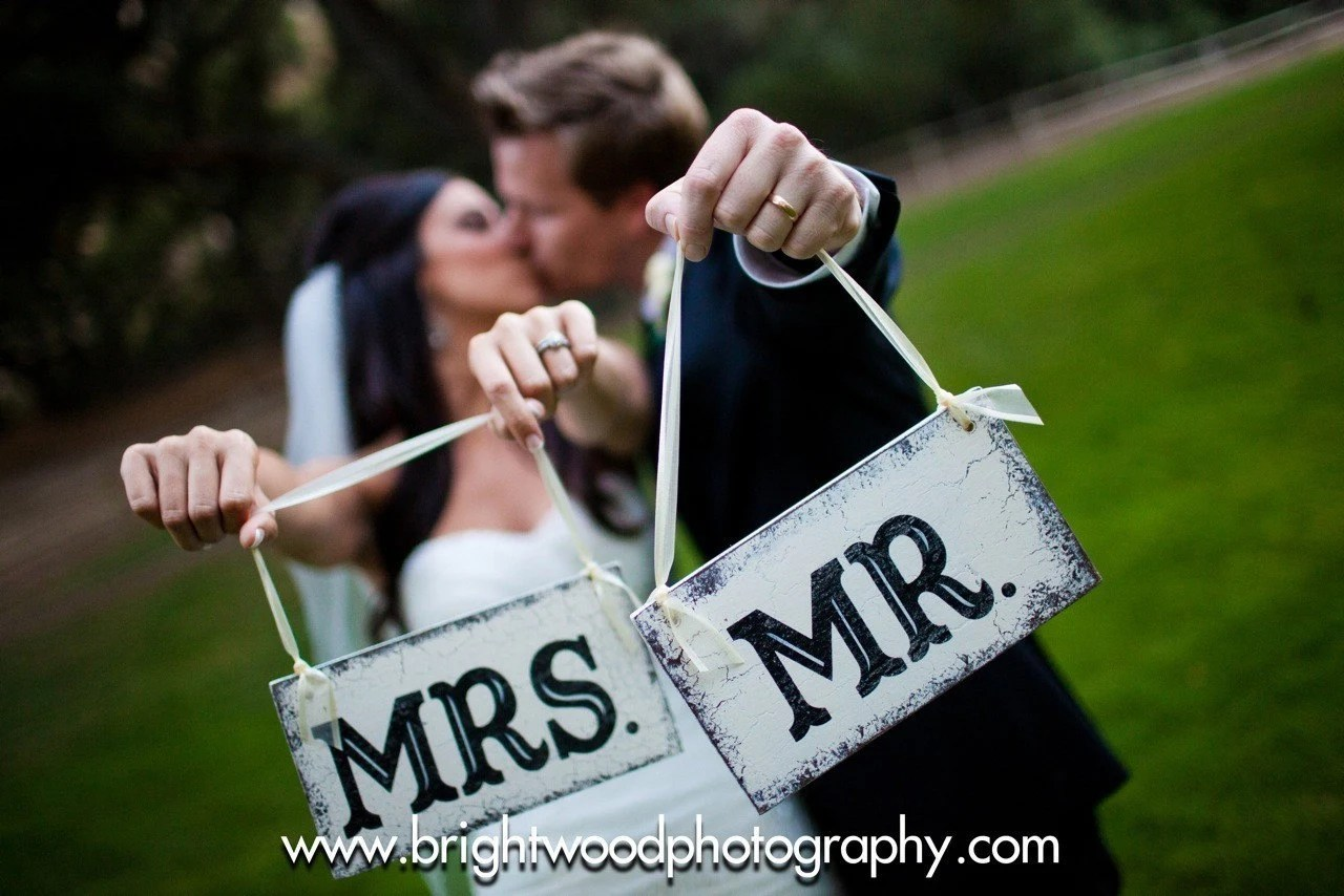mr and mrs chair signs painted dining room chairs ideas wedding hangers