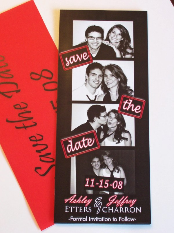 Booth Save Date-magnetic