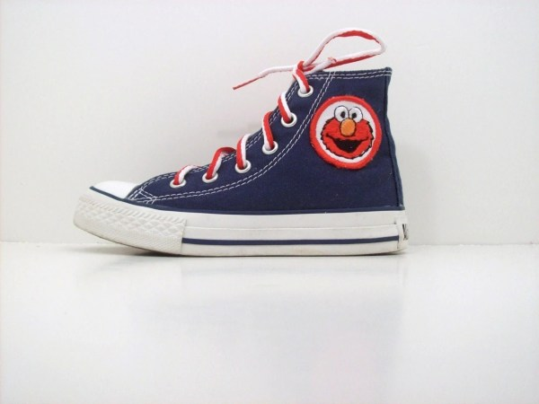 Adult Custom Chuck Taylor High Top Elmo Converse Shoes