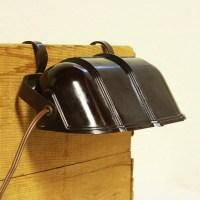 Vintage headboard lamp headboard light brown bakelite