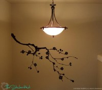 Items similar to Cherry Blossom Branch Wall Art Graphics ...