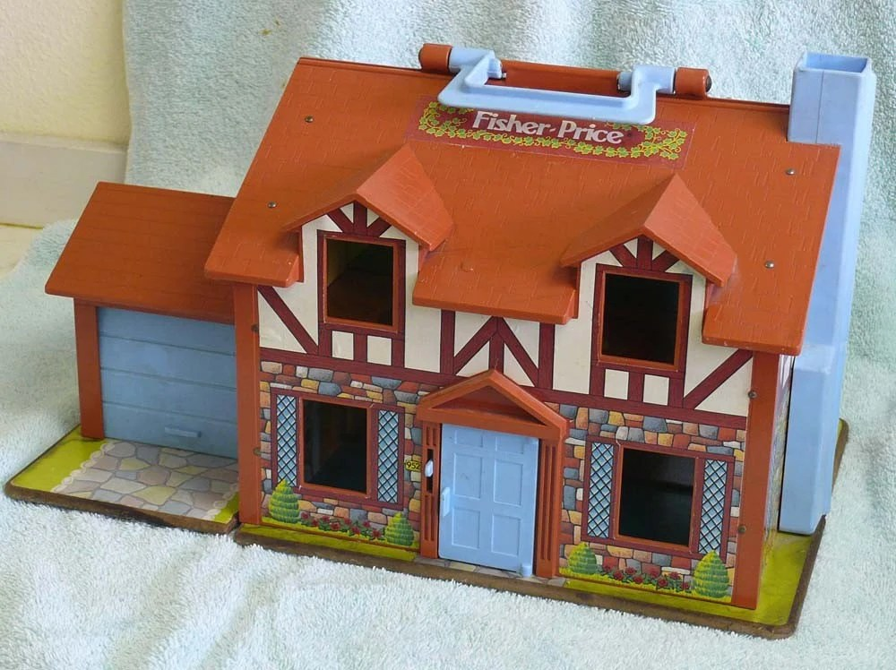 Vintage Fisher Price Dollhouse 1980 952
