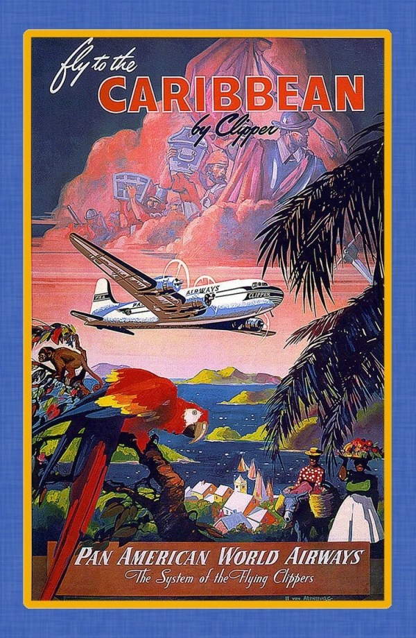 island travel posters