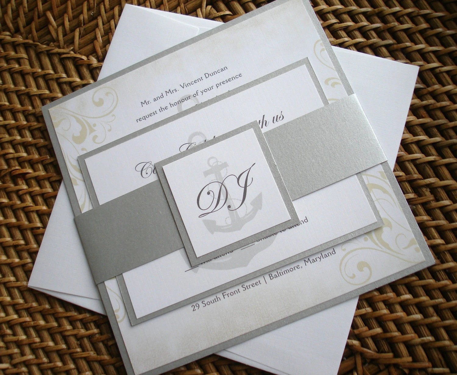 Yacht Save Date Cards