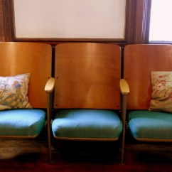 Theater Chair Covers High Straps Big W Reserved For Charnibp Vintage Chairs Set Of Three