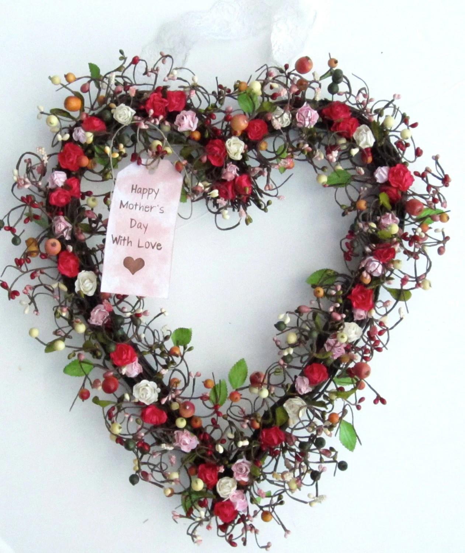 Basic Red Valentine Wreath 2016 Trendy Tree Blog