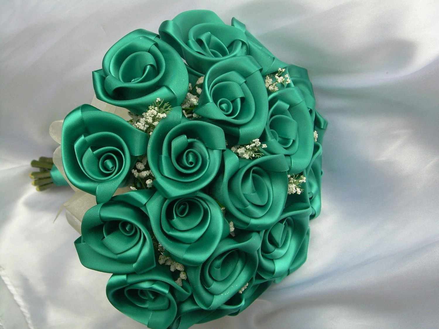 Wedding bouquet Custom Handmade roses in the by