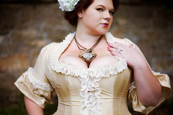Items Similar To Plus Size Victorian Wedding Dress