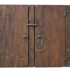 American Made Kitchen Cabinets Wood Early Reproduction Hanging Farmhouse Rustic Country