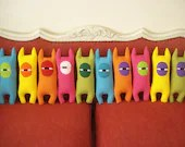 Color Monsters, toys, plushie, stuffed - cronopia6