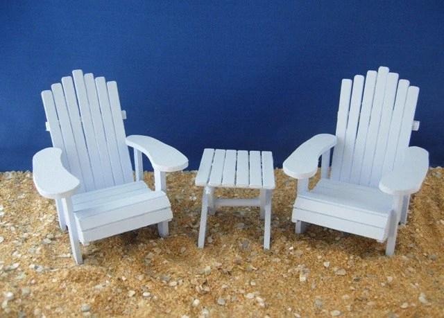 Mini Adirondack Chairs