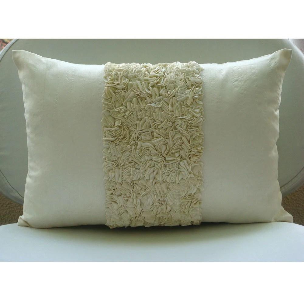 Decorative Oblong Lumbar Throw Pillow Covers Accent Pillow