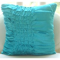 Turquoise Knots Euro Sham Covers 26x26 Inches Euro Sham