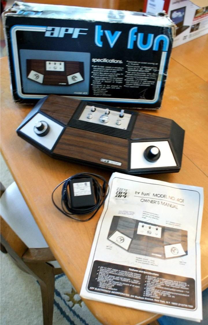 Rare Vintage APF TV Fun Like Atari Pong includes original box