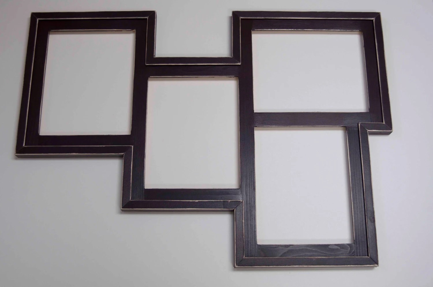 Collage Picture Frame MULTI 4 Opening 8x10 Distressed