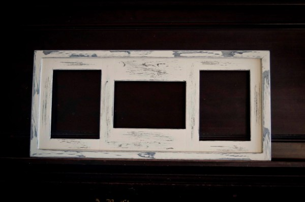 Collage Frame Multi 3 Opening 5x7 Distressed