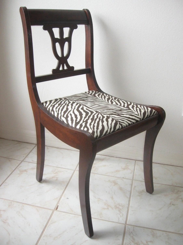 zebra print office chair stressless ekornes vintage regency desk and matching