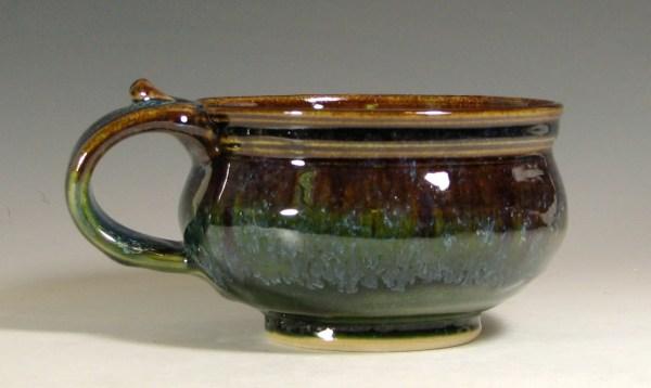 Soup Mug Ceramic Handled Bowl Cappuccino Chili Onion