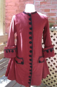 Justacorps Early 18th Century Reproduction Mens Coat 1700s