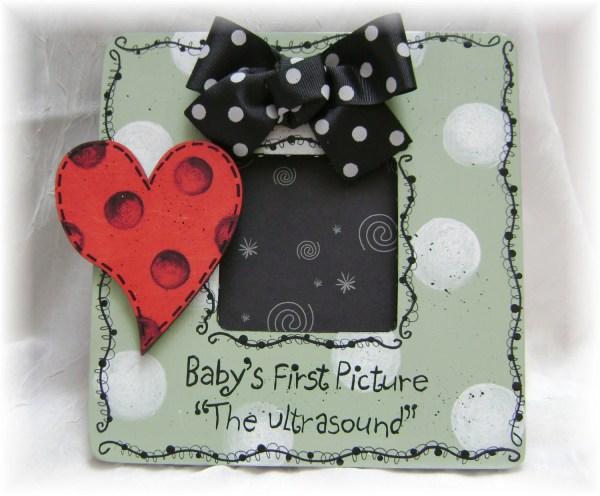 Ultrasound Baby Shower Frames