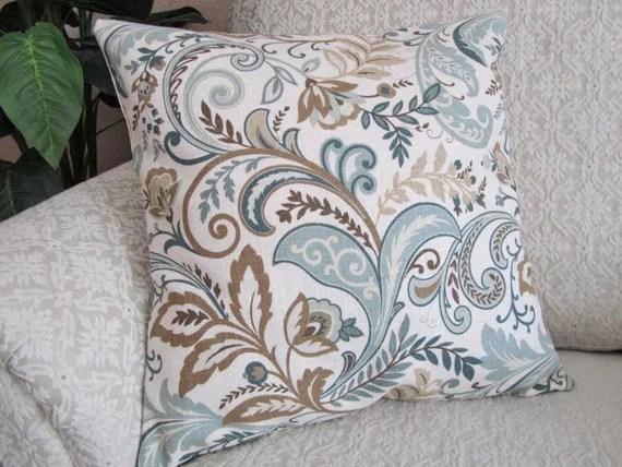 Slate Blue Throw Pillows