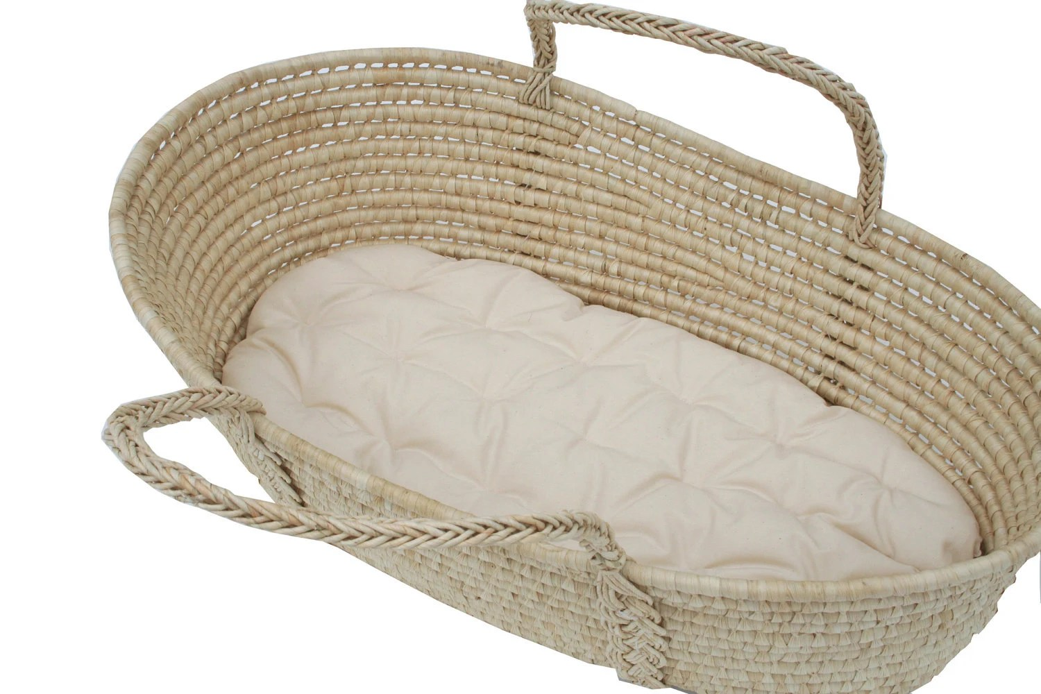 Moses Basket Futon With 100 Organic Cotton Stuffing