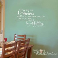 Wall Decal Harry Potter Quote Dumbledore 000-36x22.5 LARGE