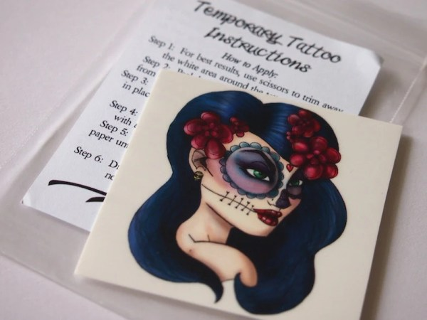 day of dead girl illustrated