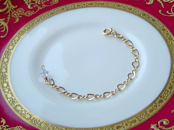 14k Gold Filled Necklace Extender Extension Chain