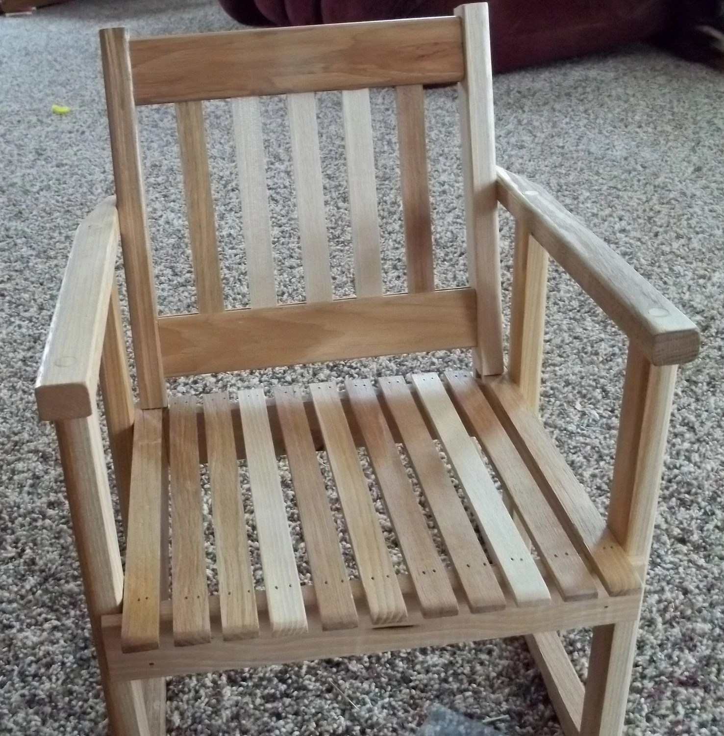Kids Rocking Chair Child Size Wooden Hickory Rocker Rocking Chair