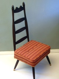 Mid Century Valet/Dressing Chair by ljindustries on Etsy