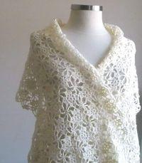 Crochet Patterns For Wedding Shawl ~ Dancox for