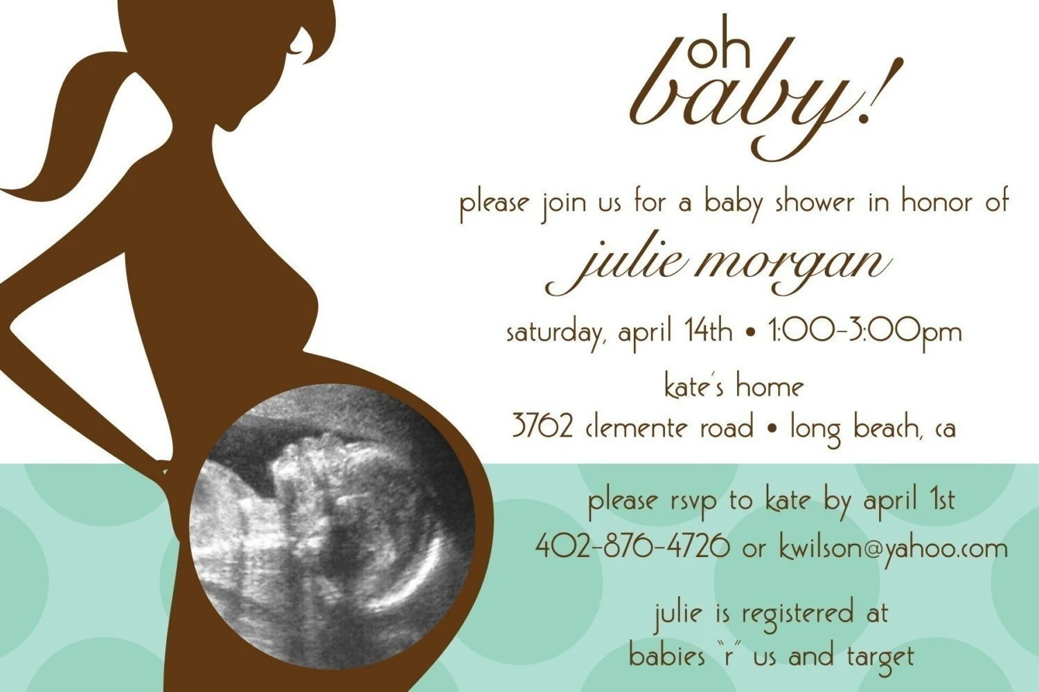 Baby Shower Invitations Ideas